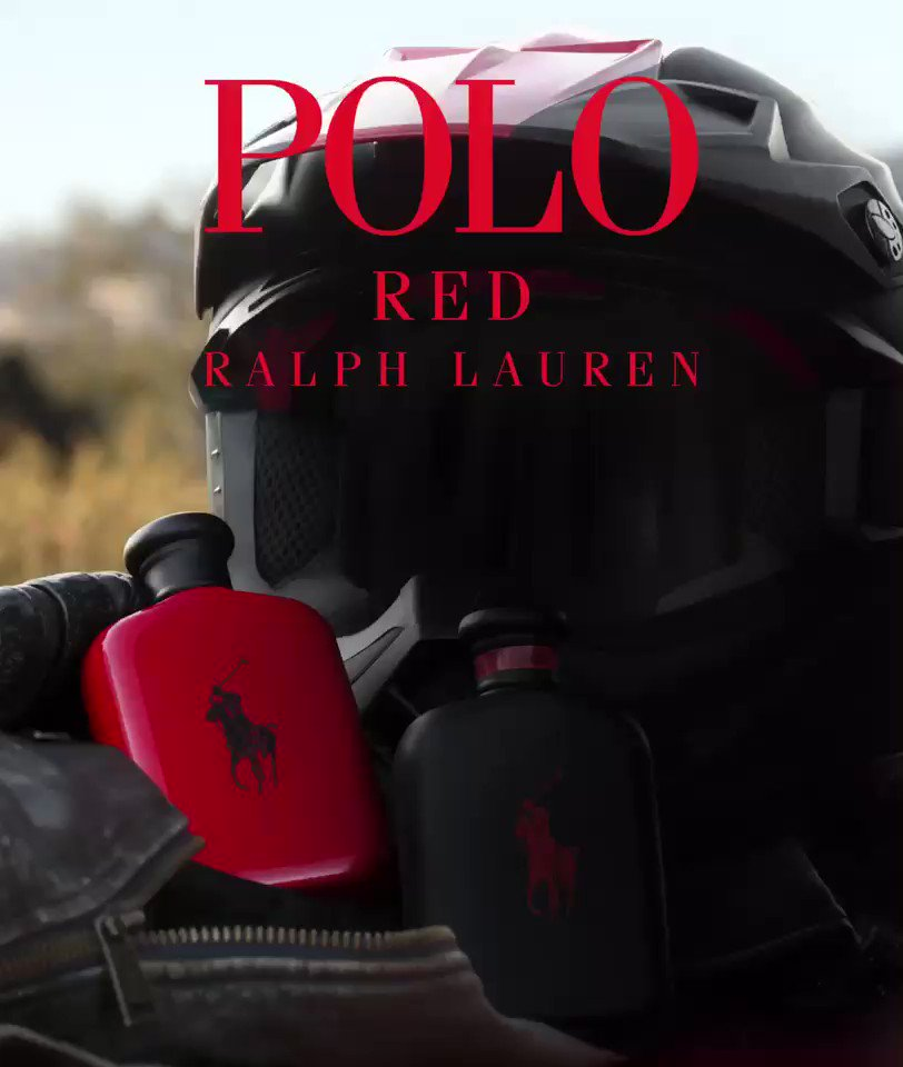 #PoloRedExtreme, the new men's fragrance by @RalphLauren #ad