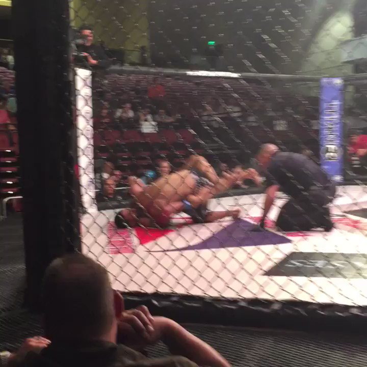 That was close to another finish! #titanfc45 https://t.co/y9ZoHKwaKB