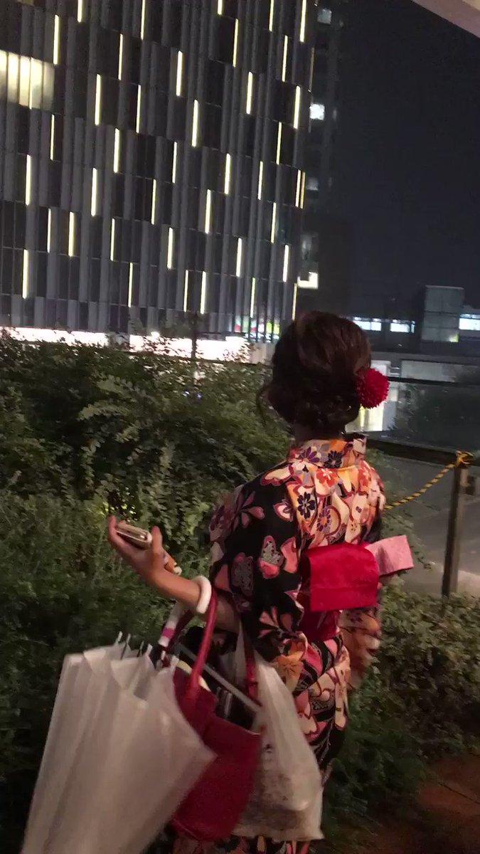 """佐倉絆  チコツちゃん on Twitter: """"ハニーと多摩川の花火大会にきたよ ..."""