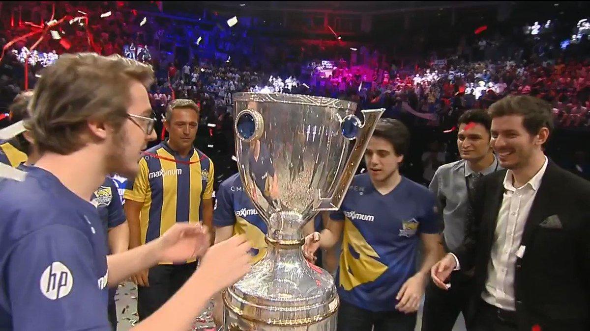 2017 Türkiye Büyük Finali'nde şampiyon 1907 Fenerbahçe oluyor! #TBF201...