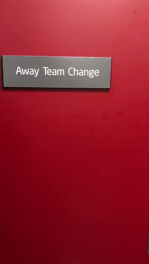 RT @Arsenal: 🚶Away dressing room ➡️ pitch  #SCFCvAFC https://t.co/FrK46B0XCB