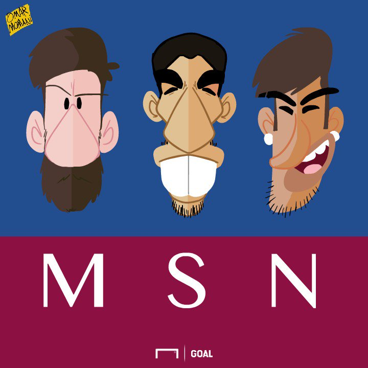 From MSN to MAD!  Lionel Messi reacting to the situation like...  (Cartoon by @omomani) https://t.co/cJXEyJPsBg