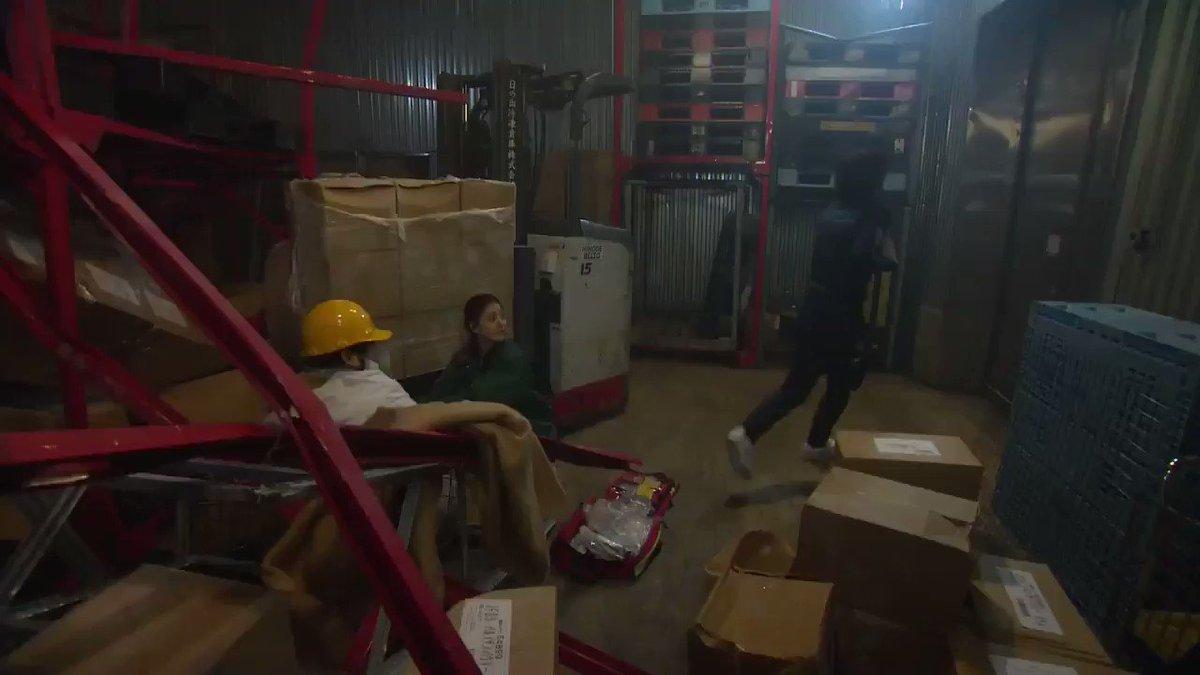 今夜9時の第6話のコード・ブルーは、 冷凍倉庫内で荷崩れ事故が発生。翔北救命センターにドクターヘリ出動要請が入り…  #コード・ブルー #コ...