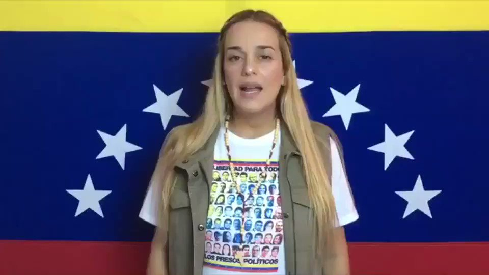 #21Ago  @liliantintori exige la libertad...
