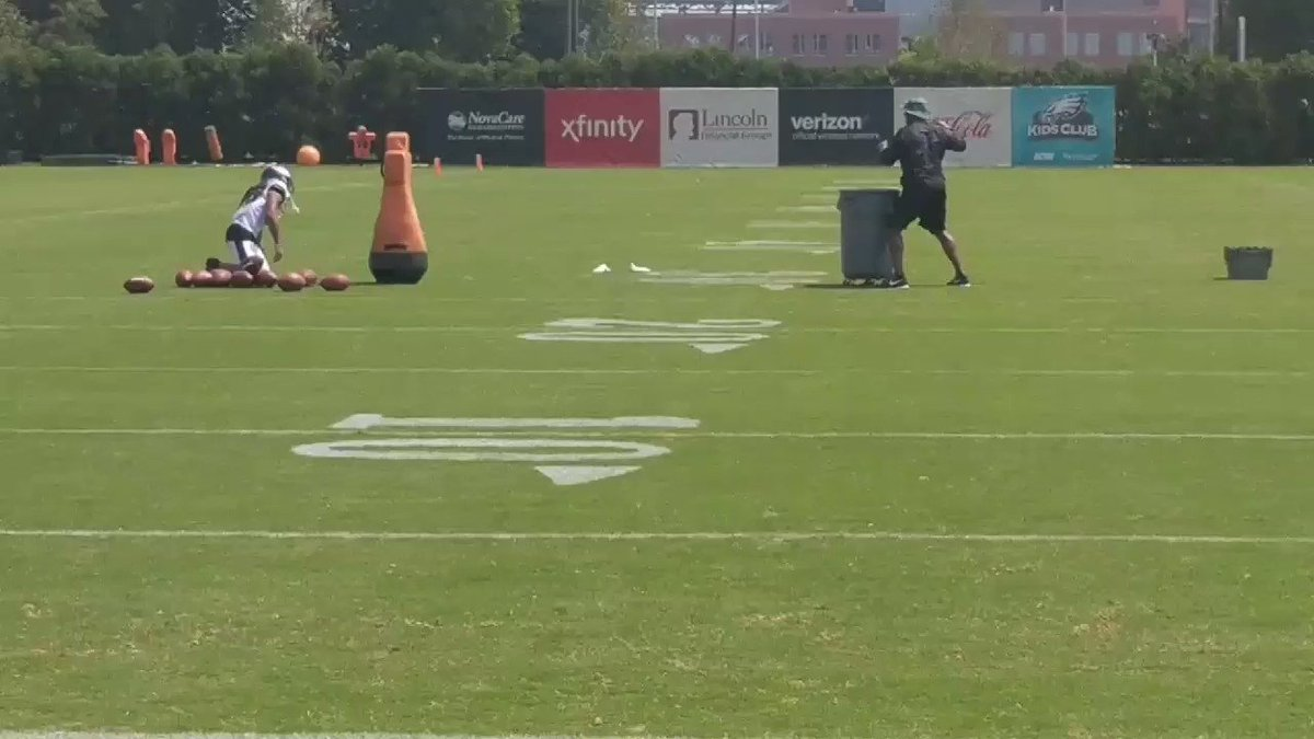 Ronald Darby and Brian Dawkins https://t.co/gCNhFw5Xq1