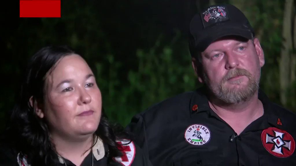 """You're sitting on my property now"": KKK leader calls Univision reporter the n-word during an interview https://t.co/wHSw5oEuwe https://t.co/OKnOcGdTJt"