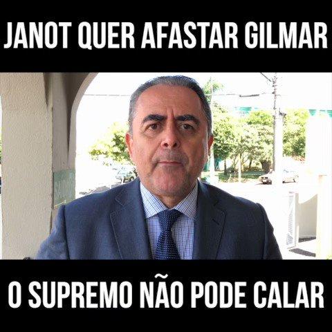 Janot pede afastamento de Gilmar; Supremo não pode parar. #QueroUmBrasilÉtico #LFG #ForaCorruptos #foragilmarmendes https://t.co/9tlPC94rPs