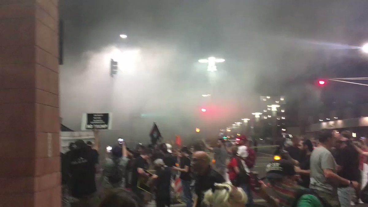 Full scale riot going on in Phoenix https://t.co/HKRceKpm6j