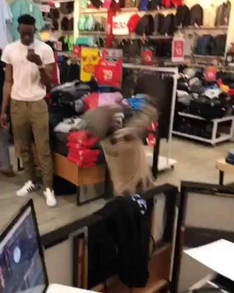 When you at the mall & they drop #Jerseyclub at Against All Odds