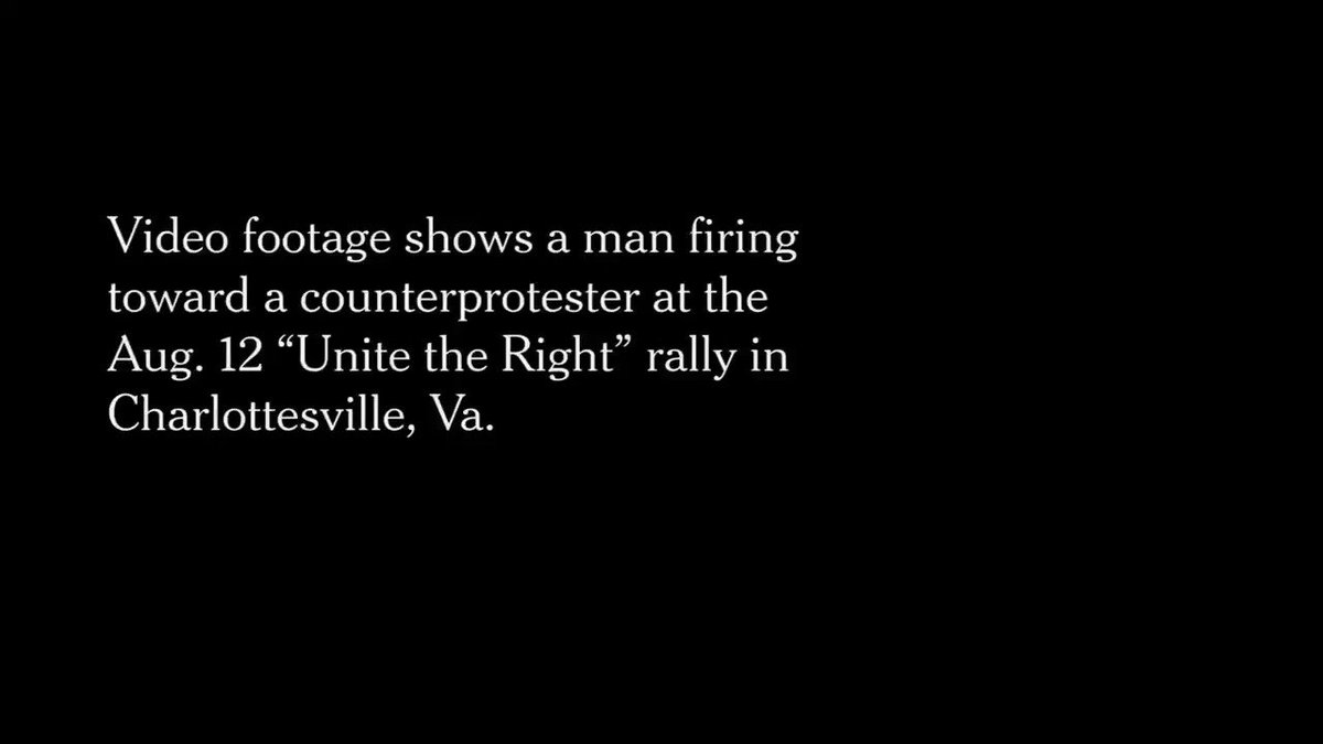 #WhiteSupremacist fire into a crowd while saying n*gger; yet the NRA tells us an armed society is a polite society