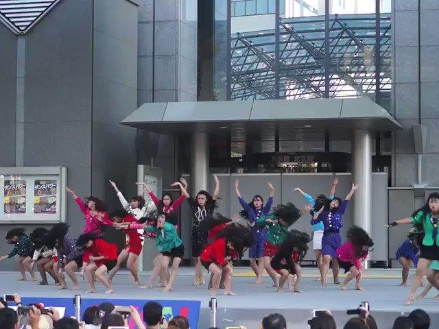 見てきました。大阪府立登美丘のダンス部。オッケーバブリー!