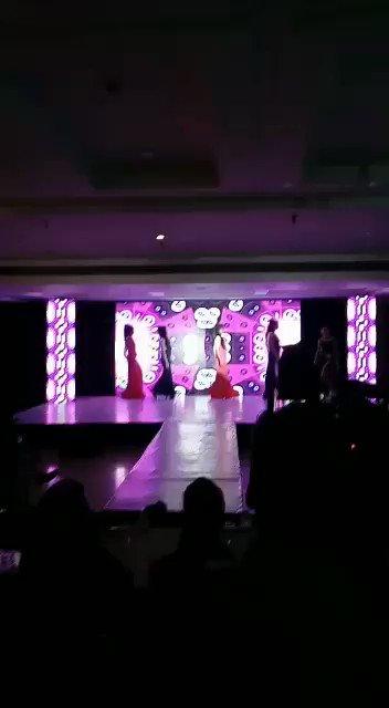 Finalists walk the ramp at #MissTransQueenIndia2017, the 1st pan-India transgender pageant held in #Gurgaon @harmlesshugs @Lgbtqia_India