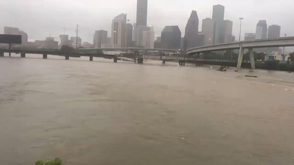 A look at Downtown Houston. 4th biggest US city & beautiful melting pot. America needs to unite around it right now. https://t.co/VZ50MV1tBM