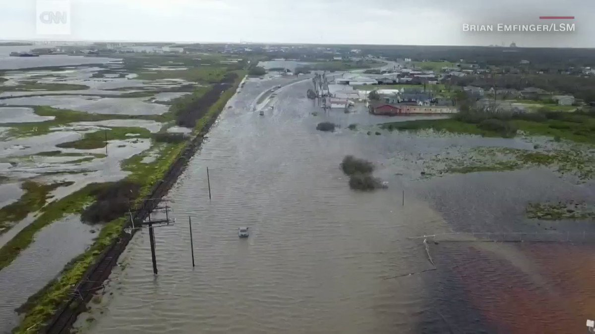 WATCH: Drone footage from Rockport, Texas, shows the destruction left behind by Hurricane Harvey https://t.co/LMPN8r2gDe
