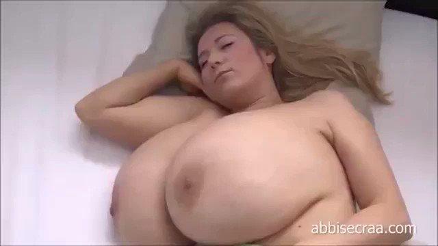 "BBoobs2 on Twitter: ""In bed w/ busty @realabbisecraa - # ..."