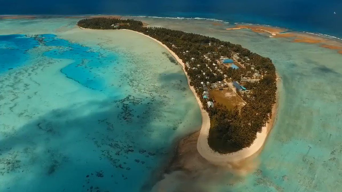 Rising #sealevel threatens 40% of world's ppl. See how #islandnations like #Tuvalu are building for #climateaction https://t.co/NTOyT4OHD1