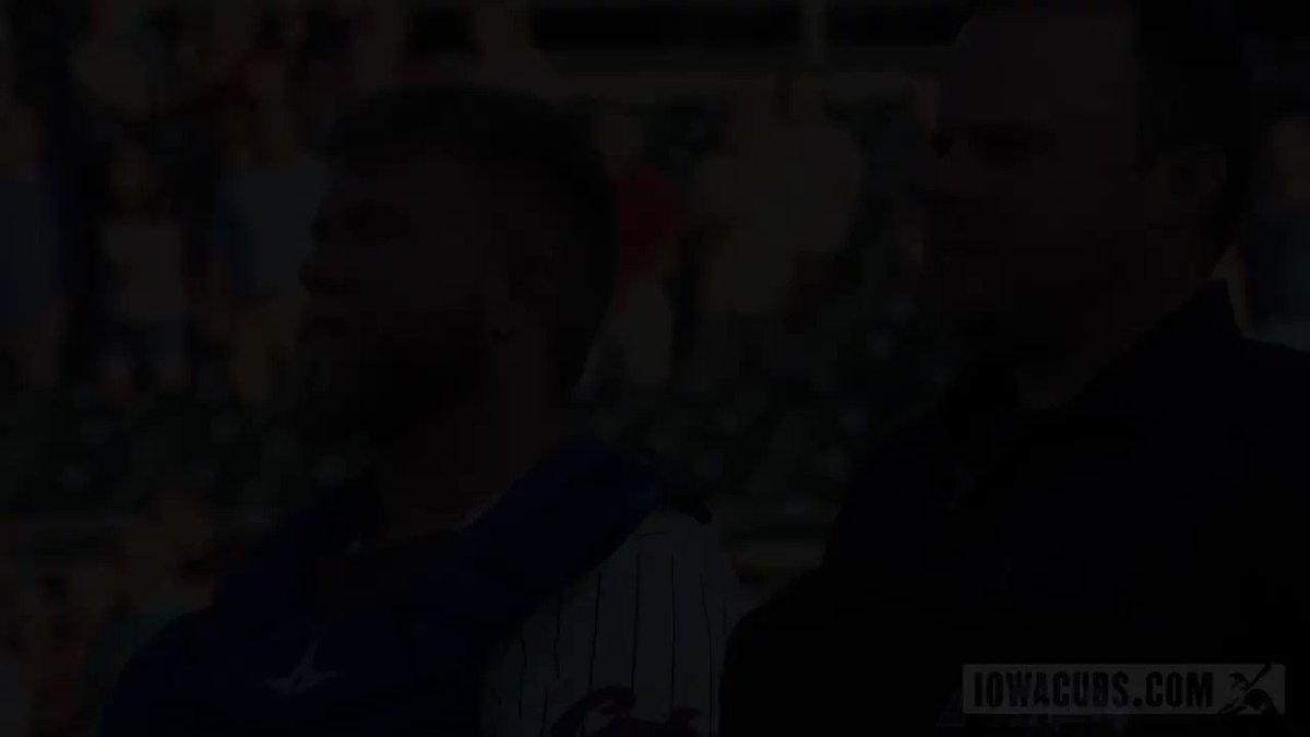 ICYMI: Find someone who looks at you the way @IowaCubs catcher Taylor Davis looks at the camera