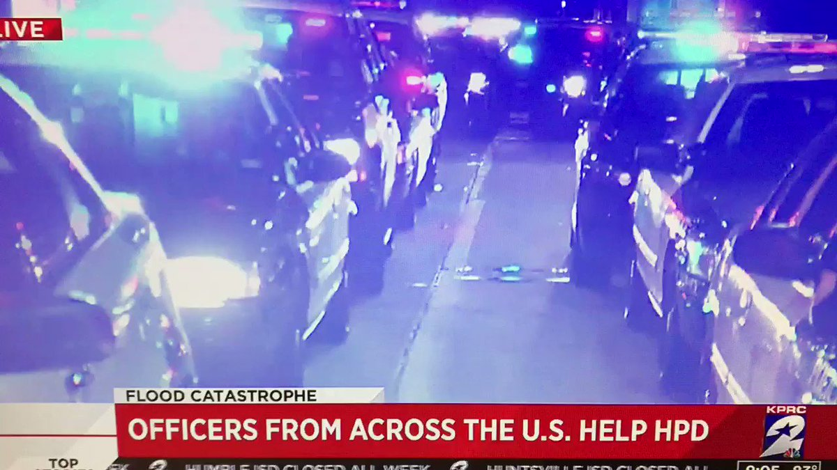 Fort Worth, San Antonio PD in Houston ready to assist @houstonpolice. Tremendous. @KPRC2 https://t.co/i17CLdywS6