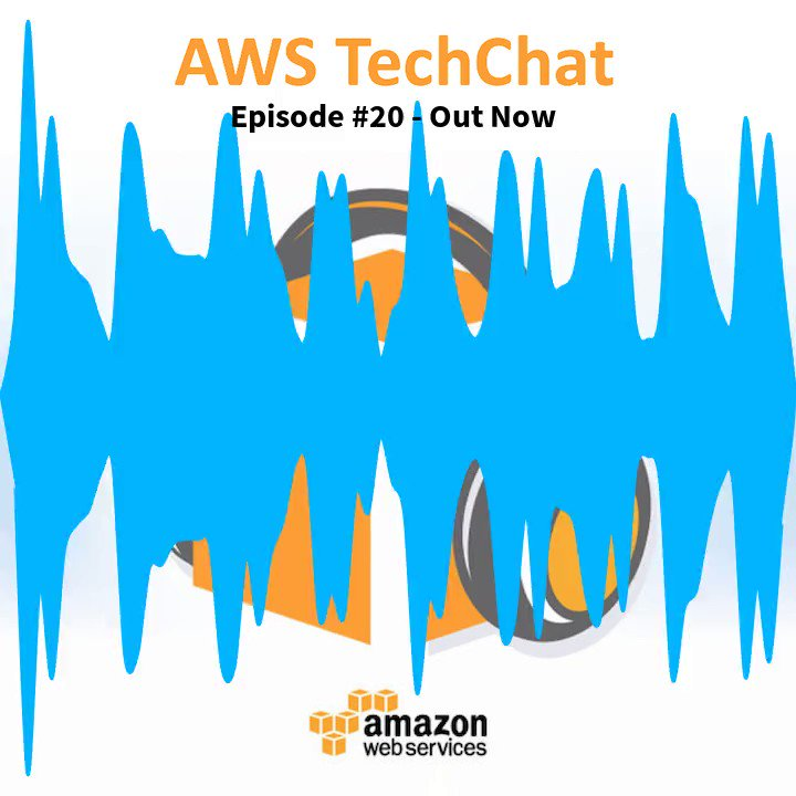 AWS TechChat Episode #20 is out now! Tune in to @captainklein & @pstanski who discuss the latest releases @AWSonAir @AWSCloudANZ