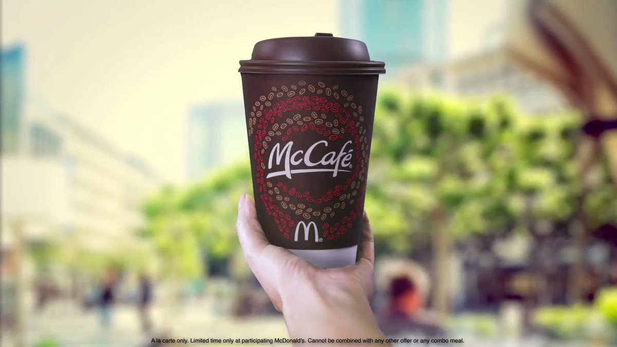 mcdonald s and the mccafe coffee initiative The new initiative is part of mcdonald's good neighbor good grounds recycling program, designed to divert used coffee grounds from the waste stream by promoting the reuse of coffee grounds to add nutrients to soil or compost.