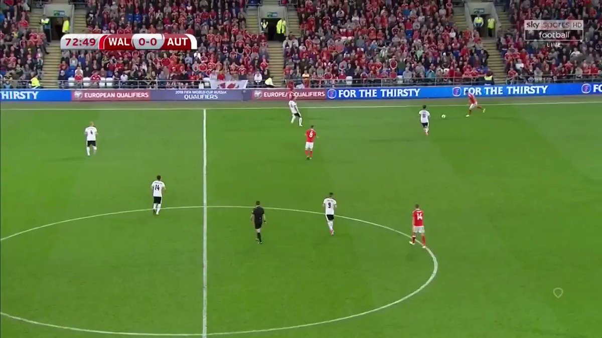 Now that Ben Woodburn has completed his move to Sheffield United its a good excuse to post this moment of beauty 261 seconds into his international debut at the end of that Anthem😍 What a signing for #sufc