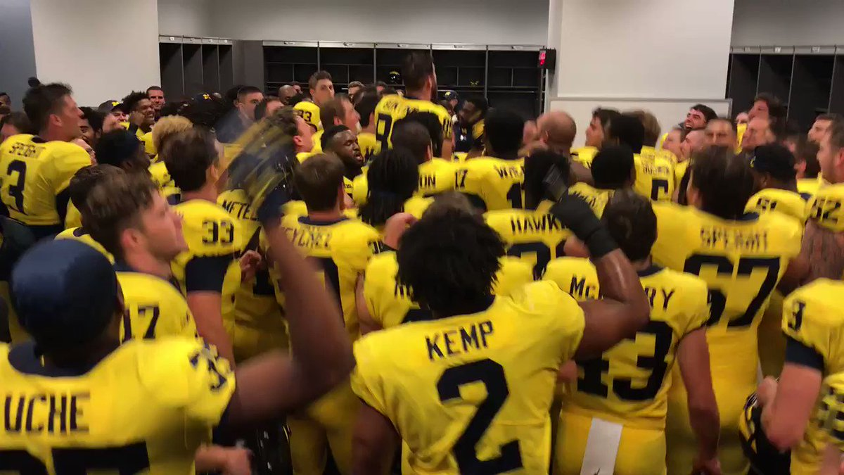 IT'S GREAT TO BE A MICHIGAN WOLVERINE!!!!   #GoBlue #GoMaize https://t.co/bet74jlI3y