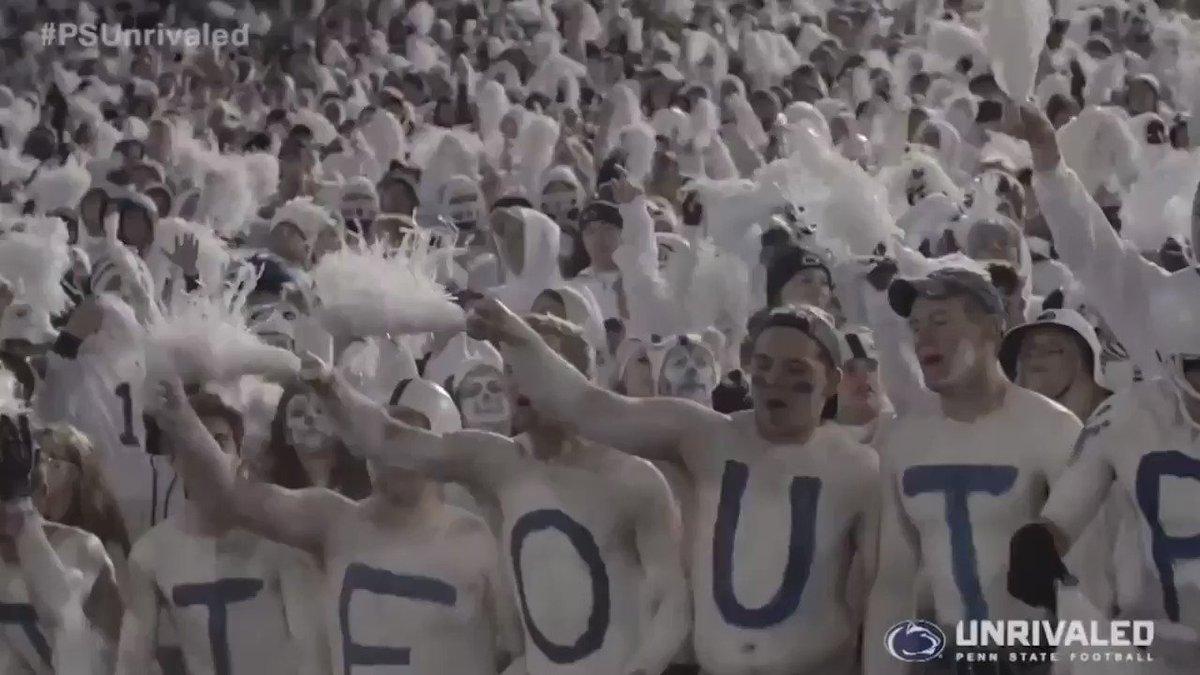Arrive Early. Be Loud. Wear White  #WearWhite #BeatPitt https://t.co/IB7yMDNHyL