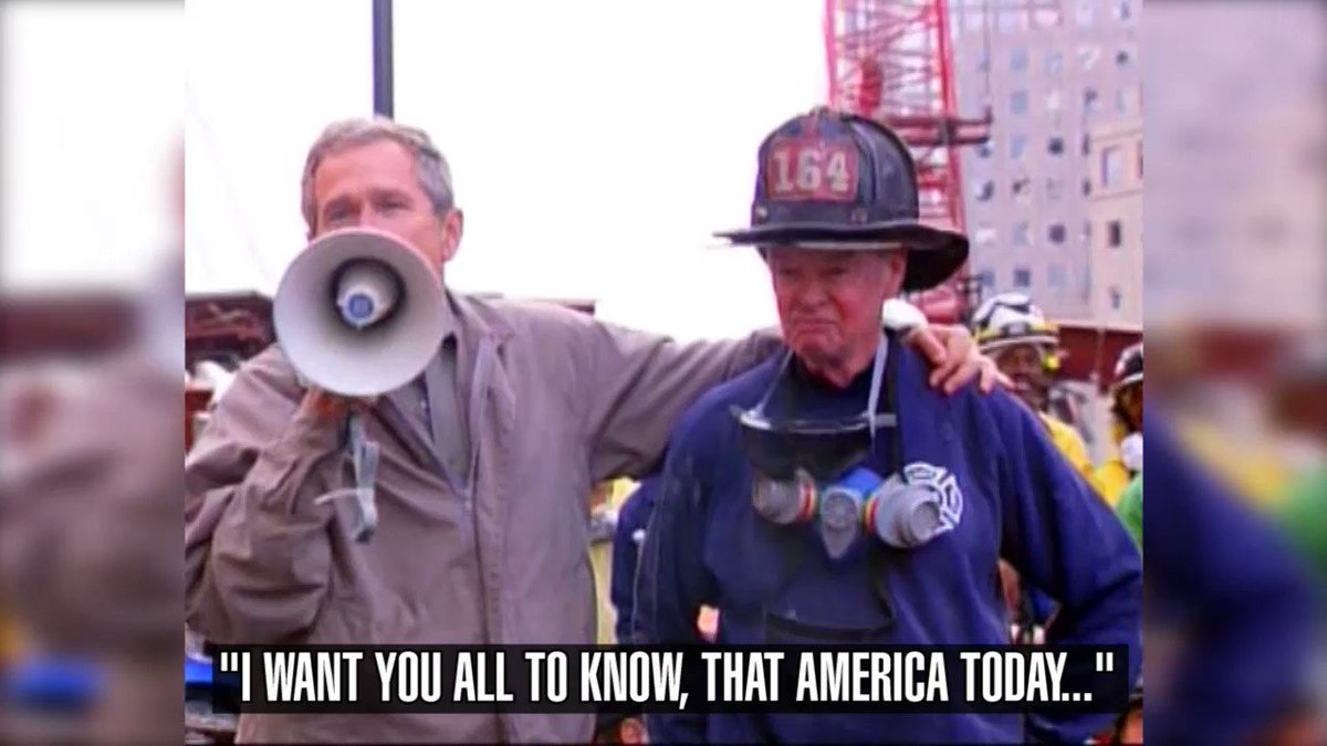 Image for the Tweet beginning: #NeverForget911