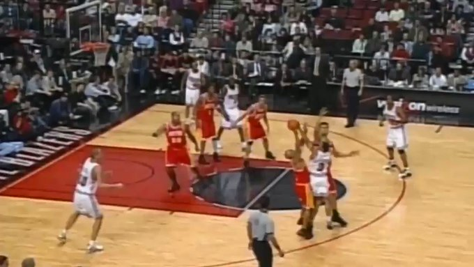 Happy birthday, Yao Ming! 7-6, 310 lbs, and could do stuff like this...