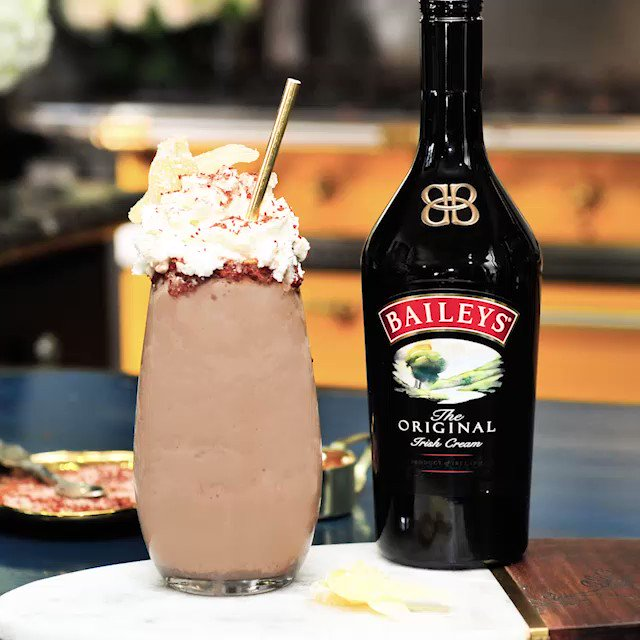 The moment you've all been waiting for, My Milkshake, made with @BaileysOriginal so you know it's better than yours #BaileysPartner #Baileys