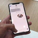 iPhone X、ホーム画面への戻り方 pic.twitter.com/syhsvhFBCO