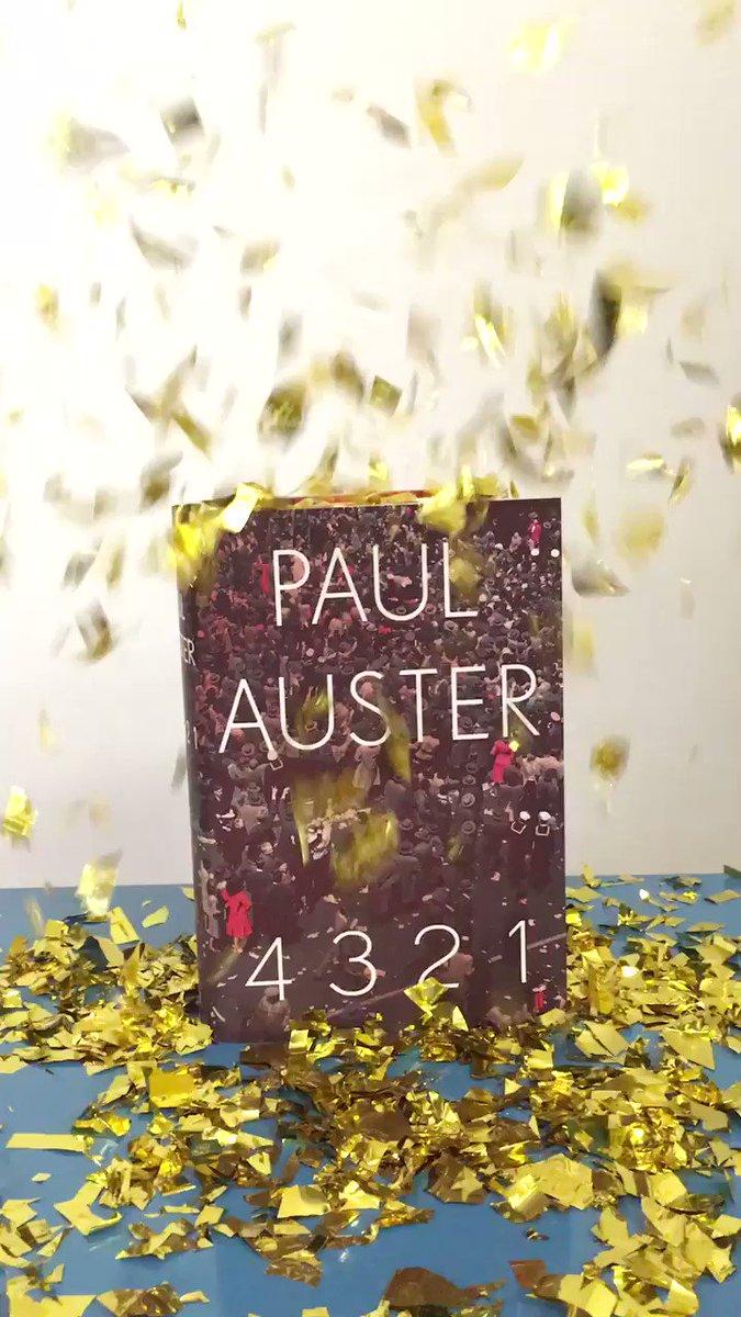 Congratulations Paul Auster on the #ManBooker2017 shortlist https://t....