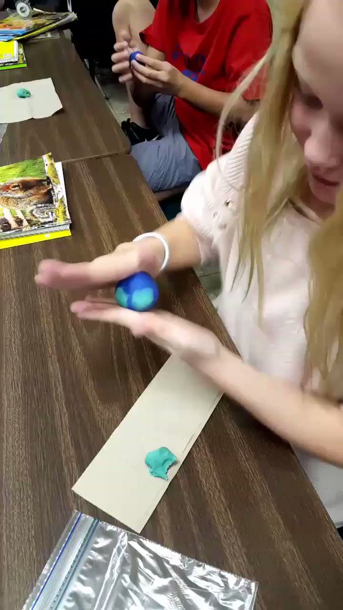 Cross-Curricular: Social Studies and Science. We are each making a model of the Earth!  #ccs118life