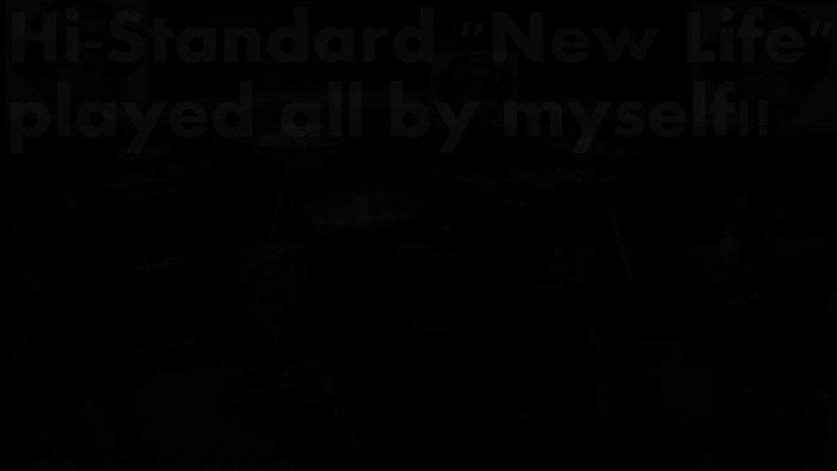 Hi-STANDARD「NEW LIFE」をバンドスタイルで演奏してみた#演奏してみた#弾いてみた#叩いてみた#ハイスタ