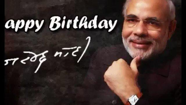 # Happy Birthday Narendra modi ji in advanced