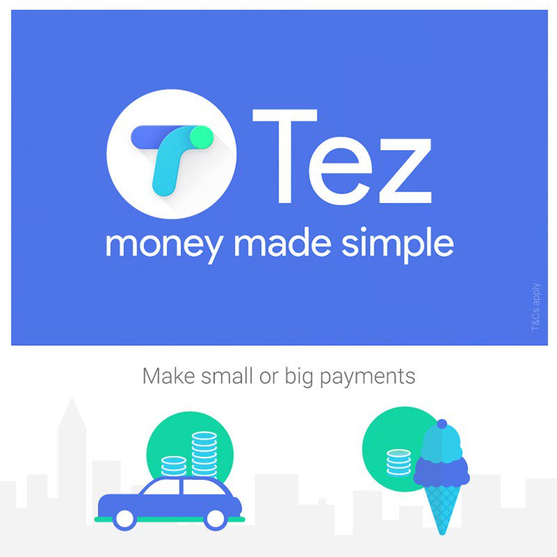Google launches its very own #UPI payments app @TezByGoogle DownloadLinks: Android: https://t.co/JCXrJMH3pj iOS: https://t.co/qNDLcfxaP1