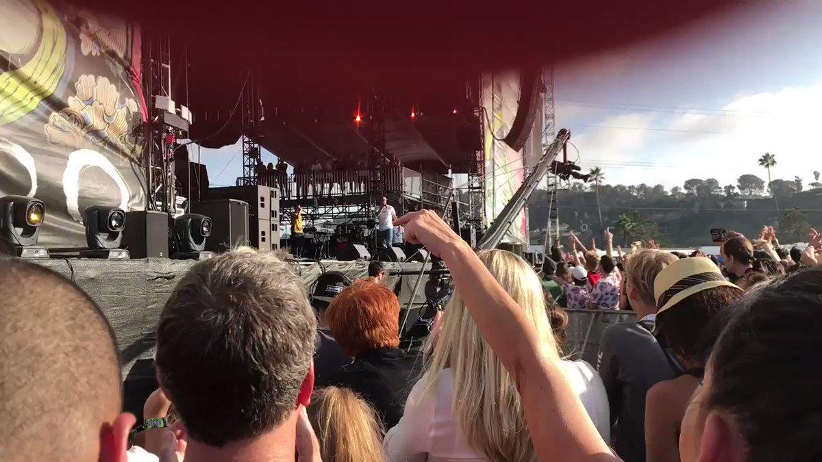 .@Logic301 gives a shoutout to @RickandMorty