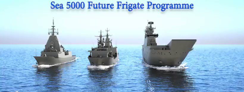 F-5000 @Navantia_AU Design #SEA5000 Frigate Interoperability and commonality are essential for an integrated force #RAN #ASW #shipbuilding