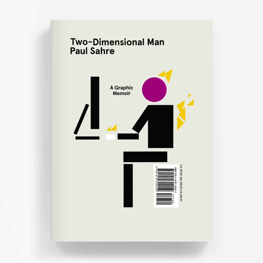 !!!!!!!!Two-Dimensional Man: A Graphic Memoir officially launches today!!!!!!! https://t.co/VWaXzgS9ha https://t.co/RJ3uoi6iXL