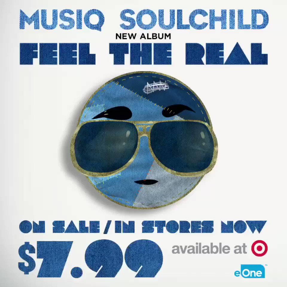 Pick up my new album 'Feel The Real' at Target #feelthereal #hiphopsoul #thankyouforyoursupport