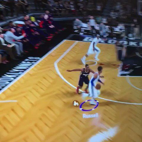 That's a @Dloading bucket!   Follow the @BrooklynNets' guard NOW on https://t.co/gWSXqaO9Vj! #NBA2K18 https://t.co/iHaTiimFTc