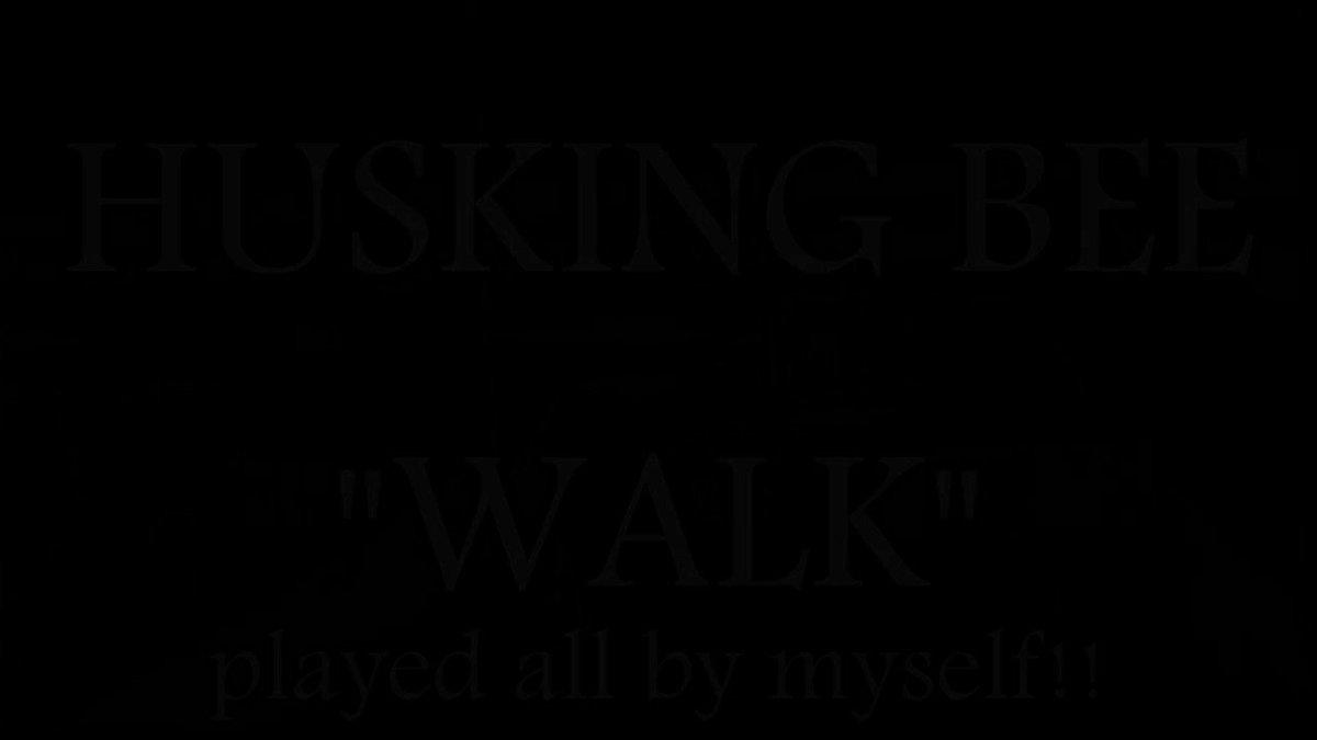 HUSKING BEE「WALK」をバンドスタイルで演奏してみた  #演奏してみた#弾いてみた#叩いてみた#ハスキン