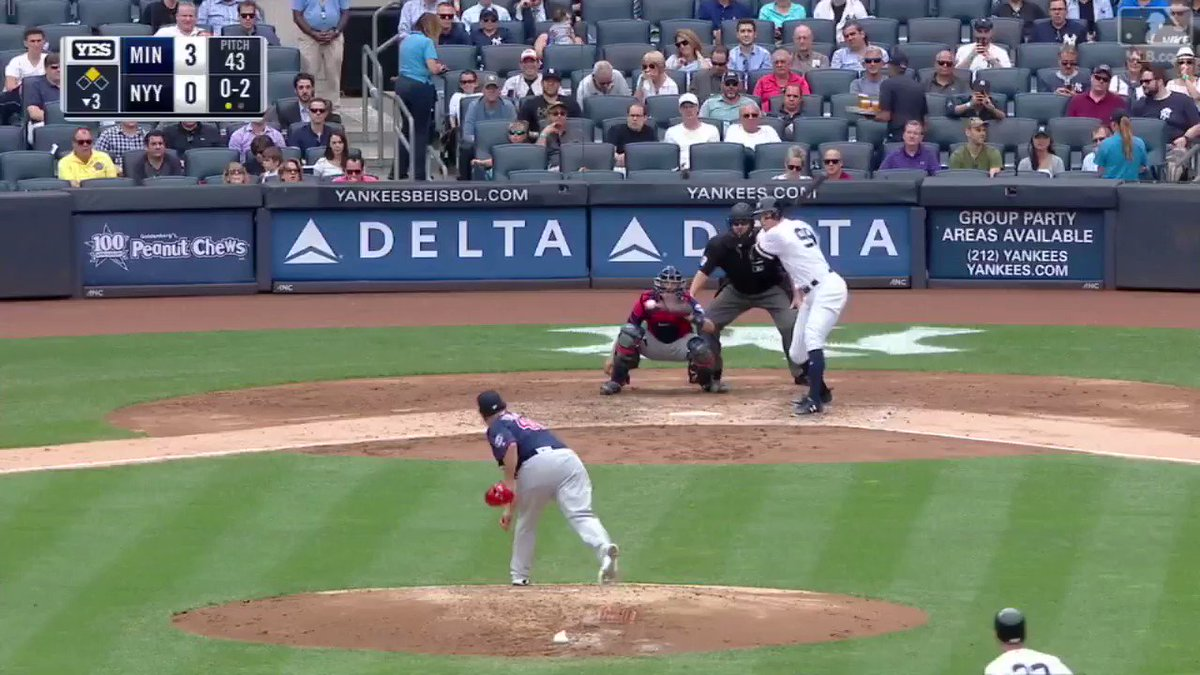 RECAP: Judge and Gary went back-to-back, Sir Didi set a new record and we swept Minnesota. https://t.co/EOWr0LzUrW https://t.co/ebULKj9fAE