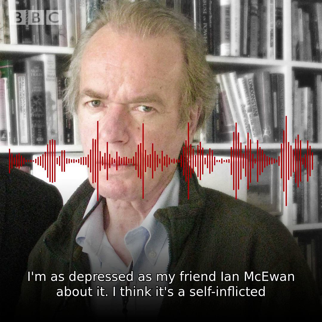 'To go-it alone seems like a denial of decline' - author Martin Amis o...