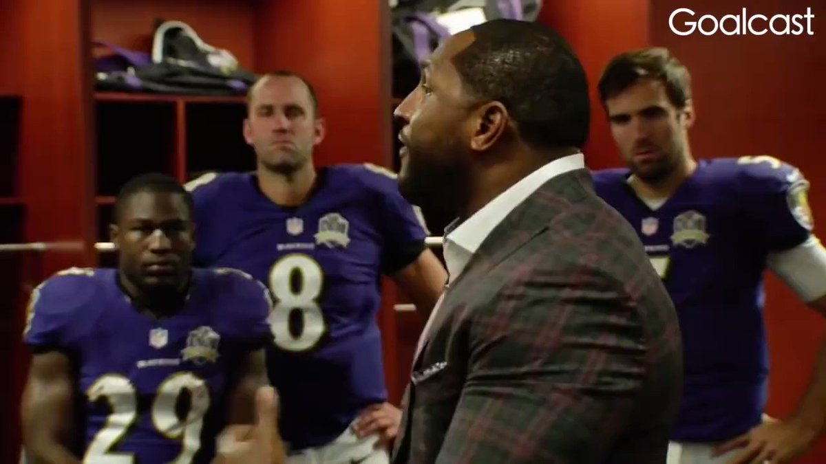 """""""David said something that was very key to the king."""" @raylewis https://t.co/svDTPRIZFy"""