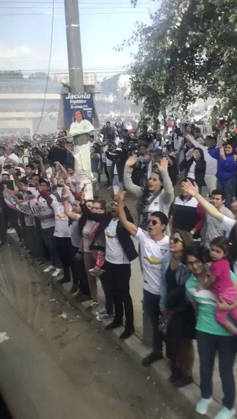 #LDU llegando al estadio Rodrigo Paz Delgado https://t.co/rx5tDJKohp