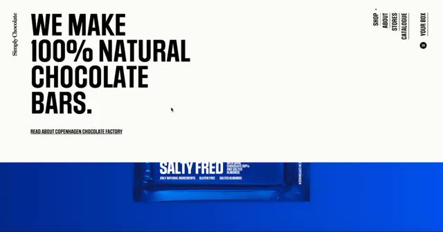 We launched a new site for Simply Chocolate this week. https://t.co/nWMR018EUW https://t.co/SCG7CyI0zl
