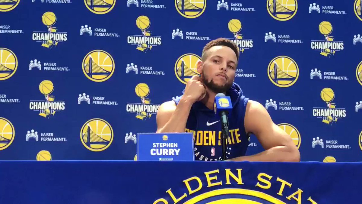Stephen Curry pretty forceful on his thoughts about Trump and possible White House visit https://t.co/Ubj6V91EsL