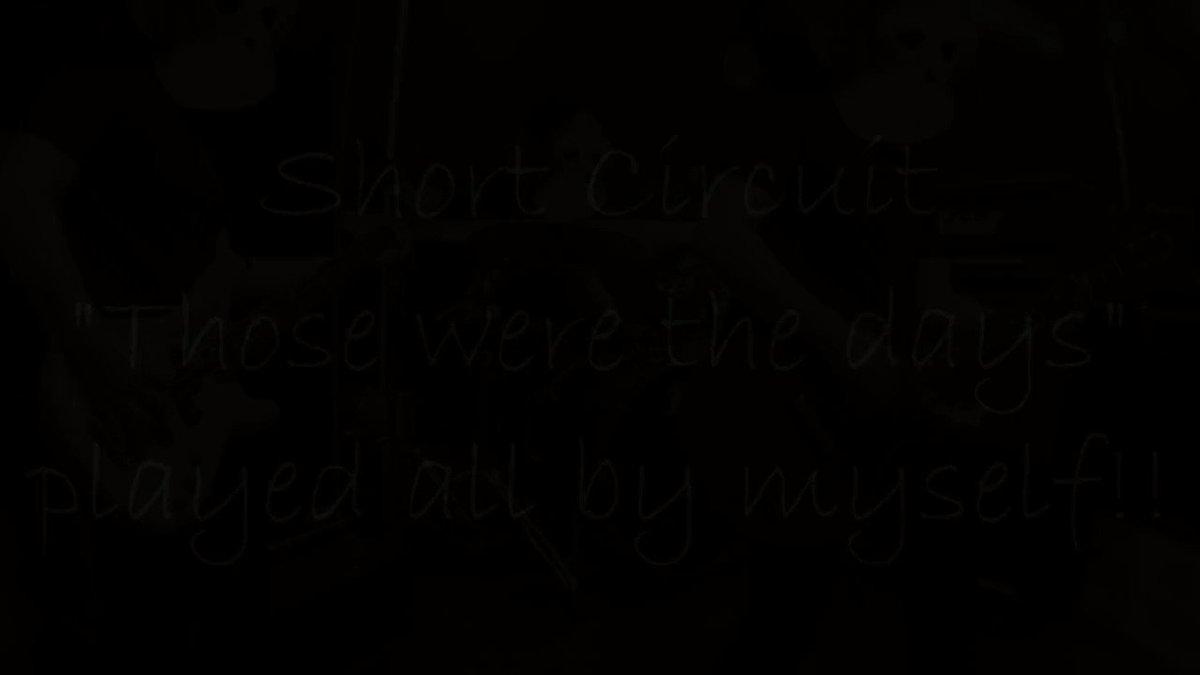 Short Circuit「Those were the days」をバンドスタイルで演奏してみた #演奏してみた#弾いてみた#叩いてみた#メロコア