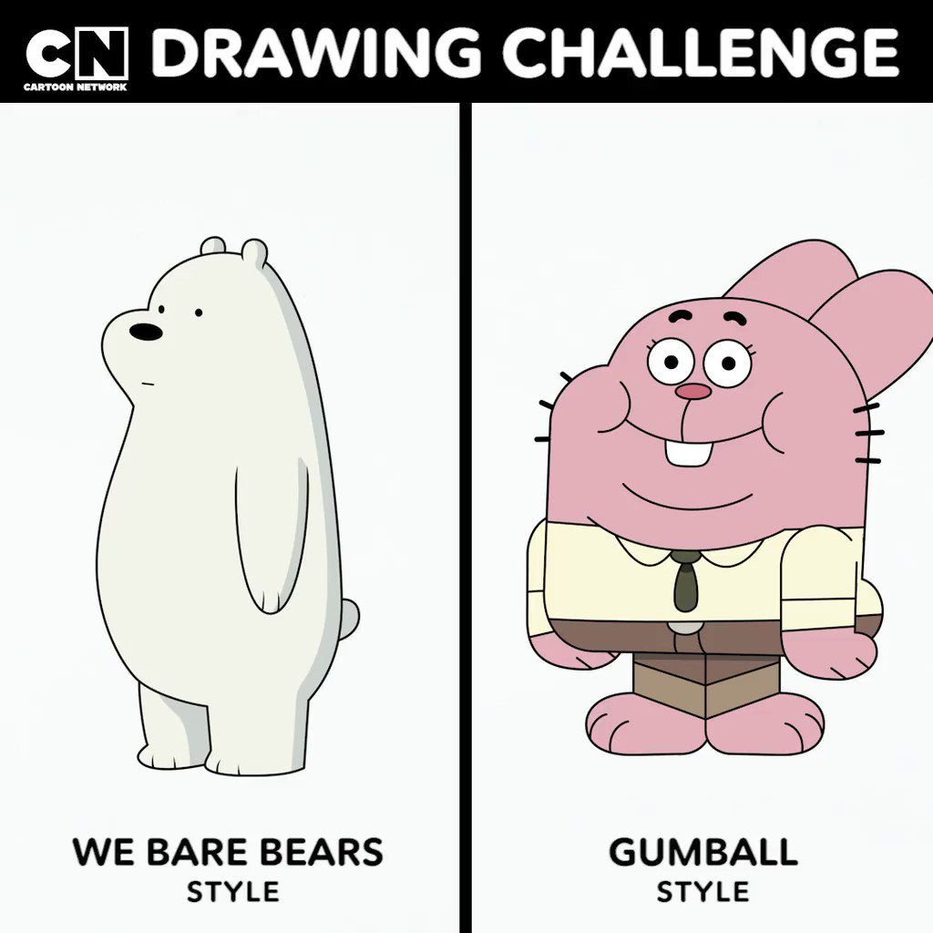 Cartoon Network On Twitter Tbh They Re Both Richard And Ice Bear